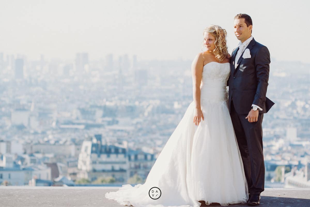 photographe elopement Paris Montmartre