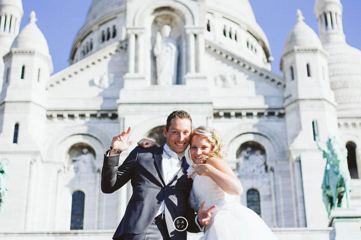photographe elopement Paris Montmartre
