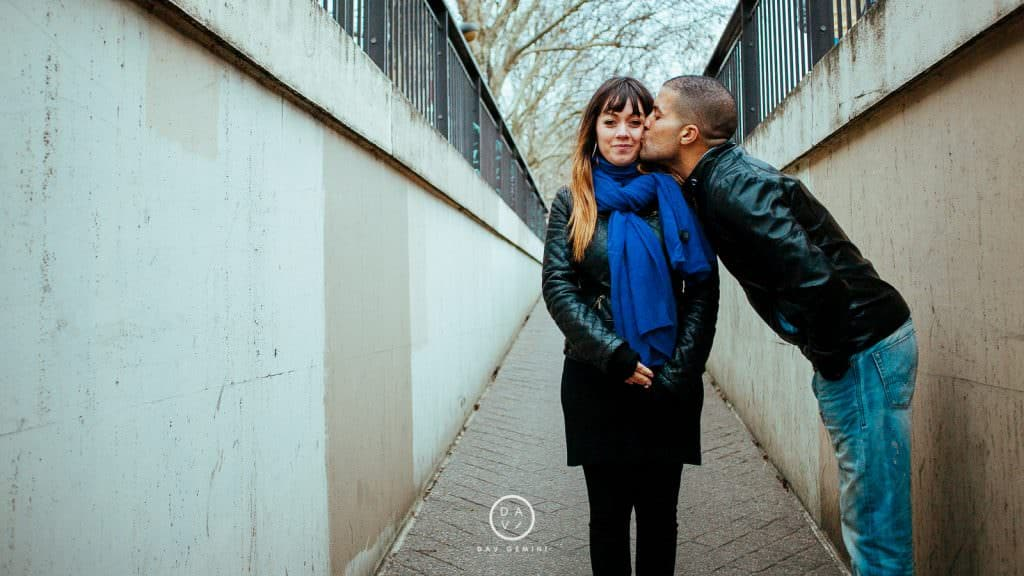 photographe de couple à Paris trocadéro