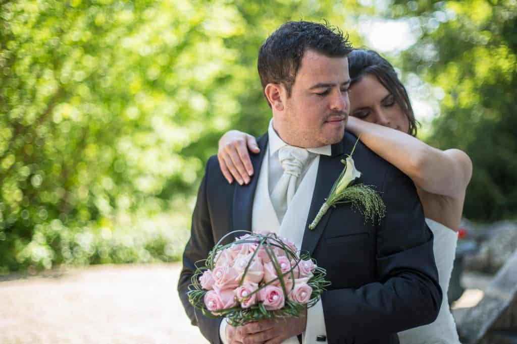 photo de mariage au Manoir des Roches