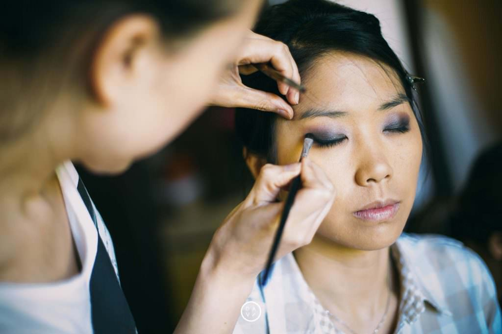 photos préparatifs mariage maquillage