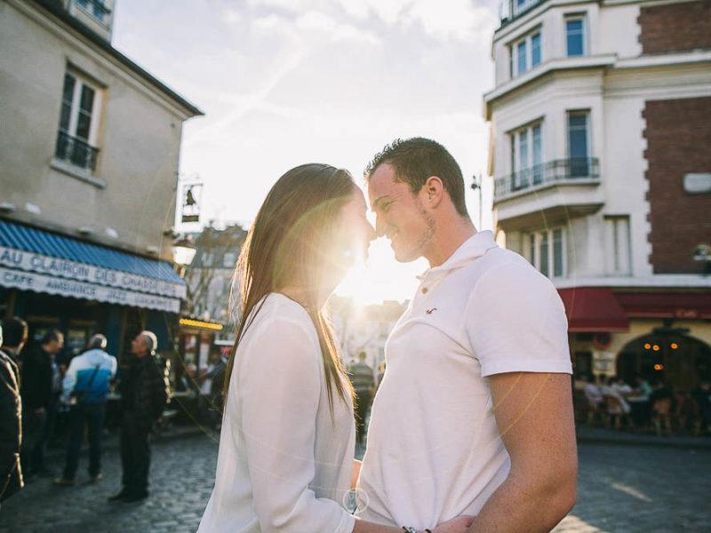 Love session parisienne avec Marine et Adrien
