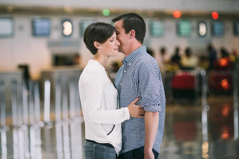 photographe de couple aérorport