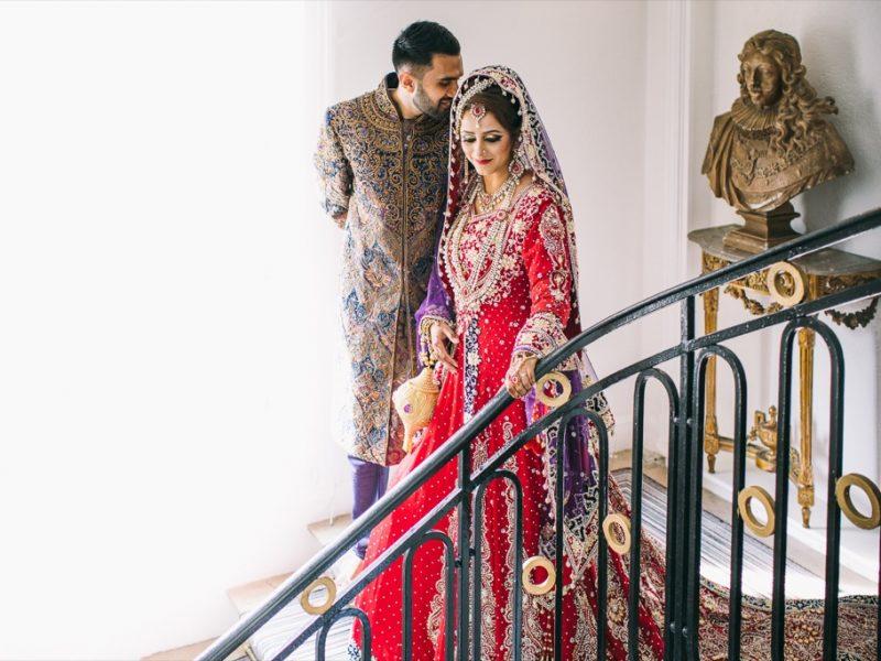 Mariage Pakistanais au Pavillon Henri IV à Saint-Germain-en-Laye