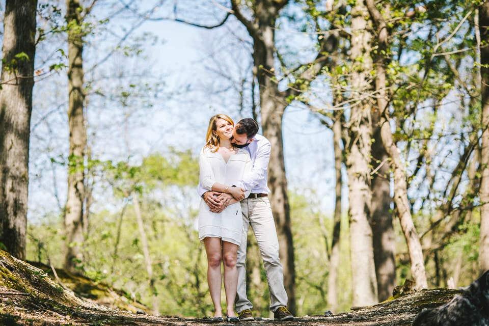 photographe de couple 91 essonne étang de la geneste