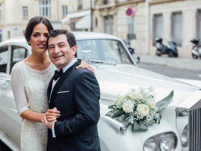 Mariage à l'Hôtel du Collectionneur, Paris (75)