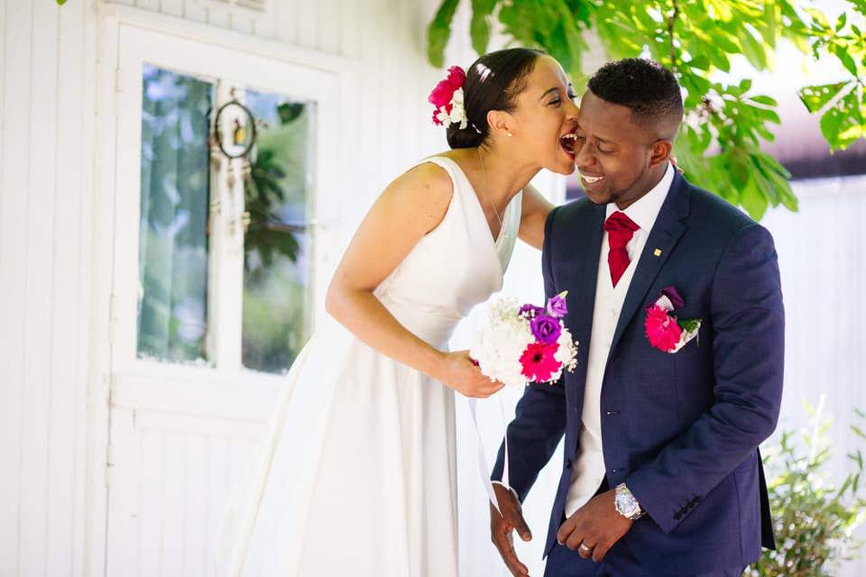 photo de mariage d'AfriqueVINCENNES théâtre de la Tempête