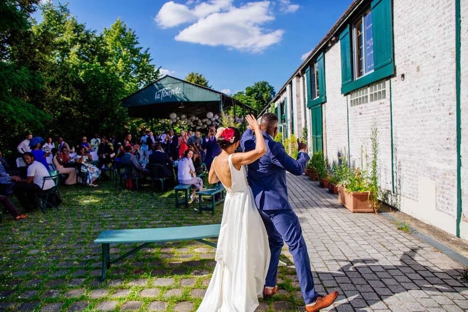 photo de mariage VINCENNES théâtre de la Tempête