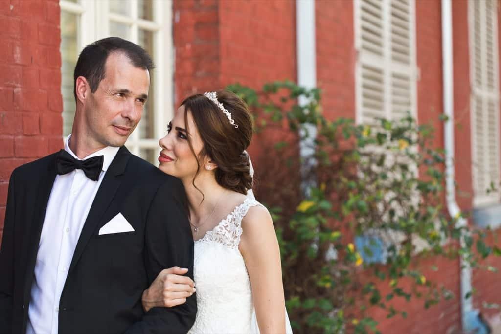 mariage à la maison