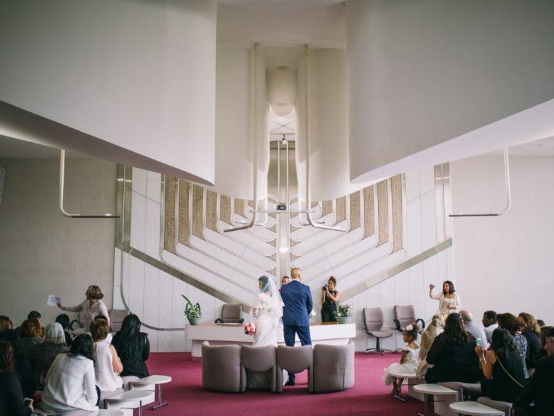 Mariage à la Mairie de Gennevilliers