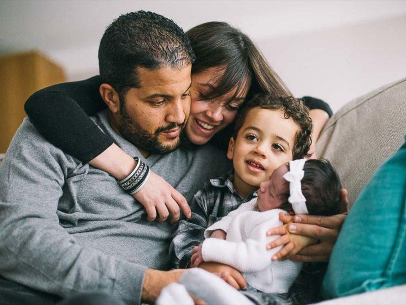 Séance famille et bébé à Villeparisis