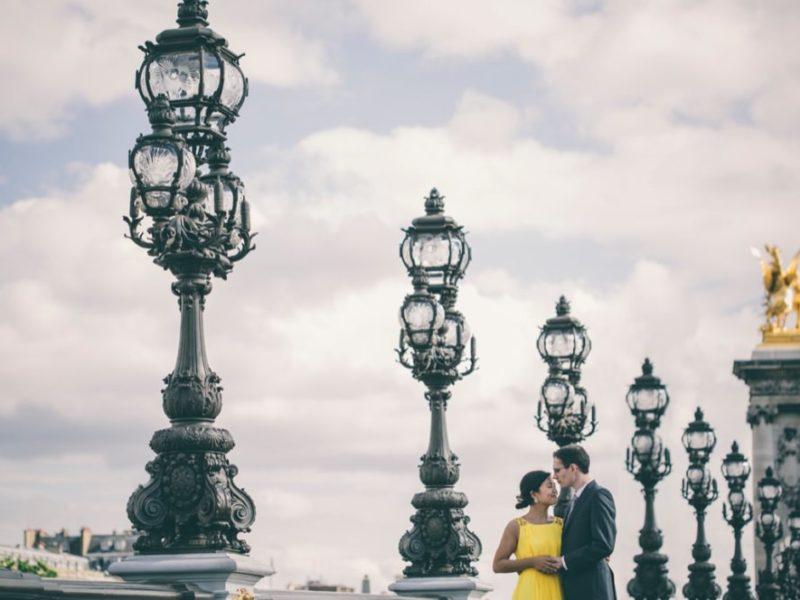 Love session à Montmartre et sur les quais de Seine