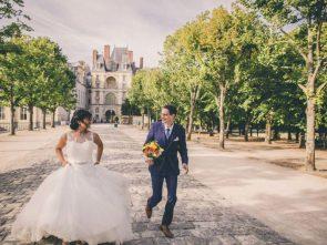 Mariage franco-asiatique au Chalet du Moulin