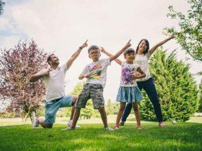 Séance photo de famille à Bussy Saint Georges