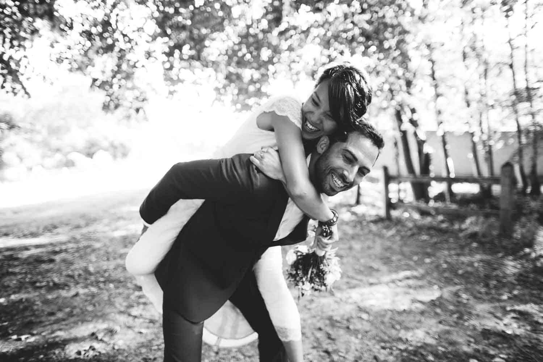 photo de mariage romantique Domaine du Parc Pontcarré