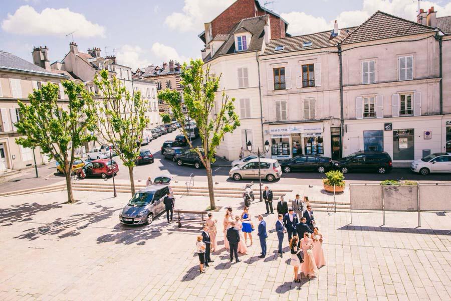 Mariage glamour au Domaine de Quincampoix