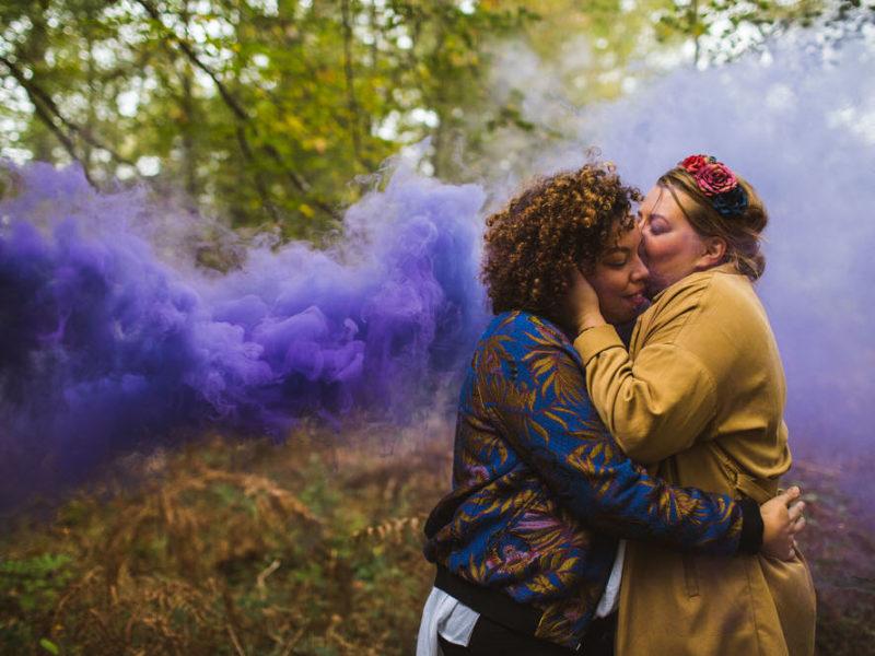 Love session et amour lesbien en forêt d'Ermenonville