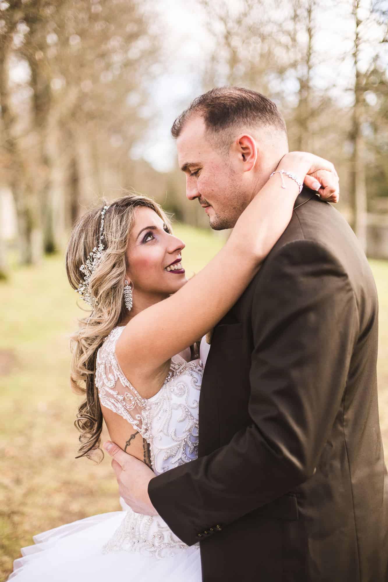 photo mariage shooting d'inspiration royale au Château de Farcheville