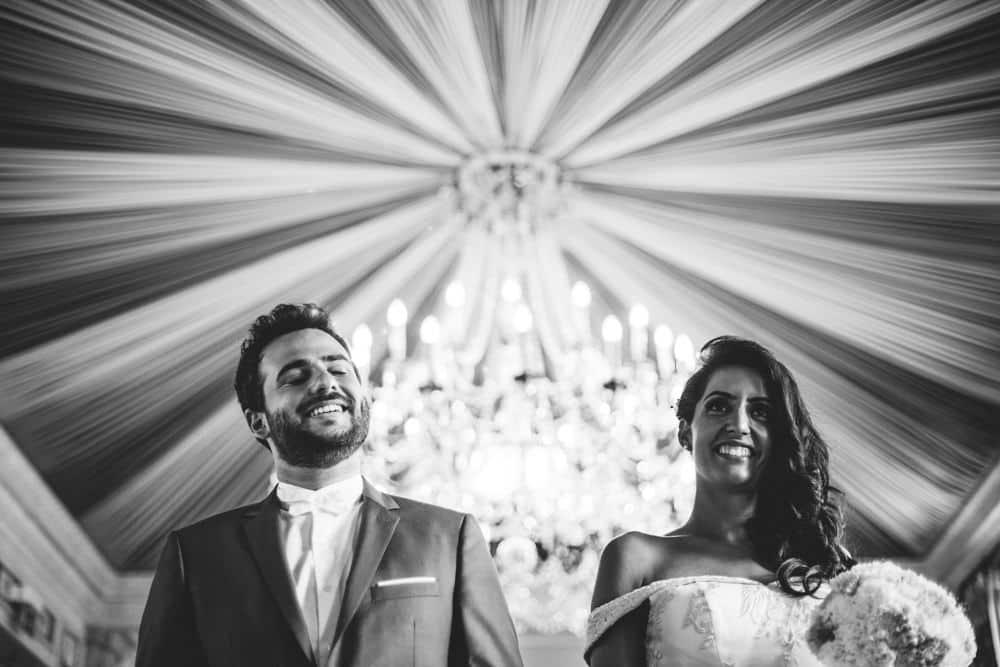 Mariage civil à la mairie de Levallois-Perret