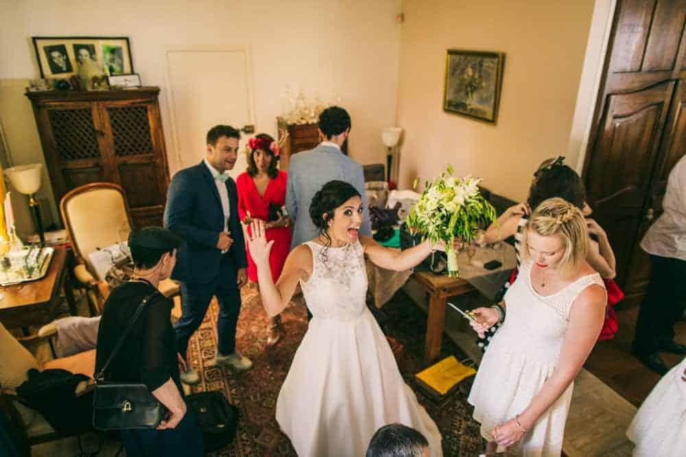 Photos préparatifs mariage au château du Monceau à Liverdy-en-Brie