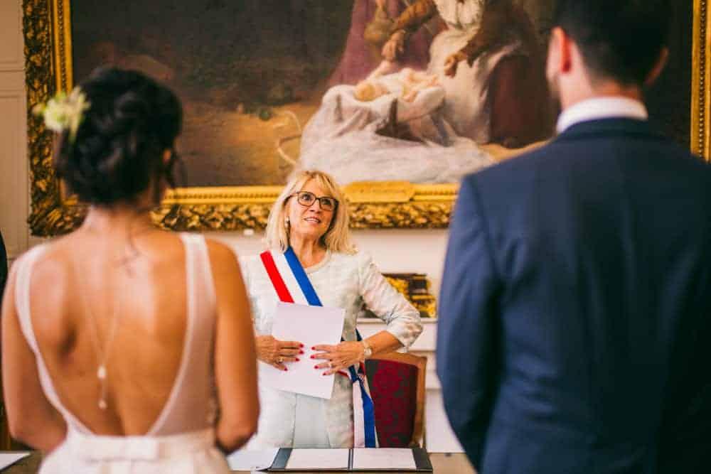 Photos mariage civil à la mairie de Coulommiers Seine-et-Marne