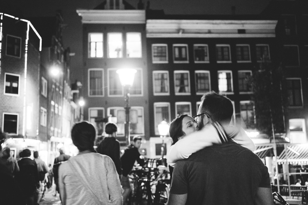 Amsterdam Red Light Corner Wedding Destination Photographer