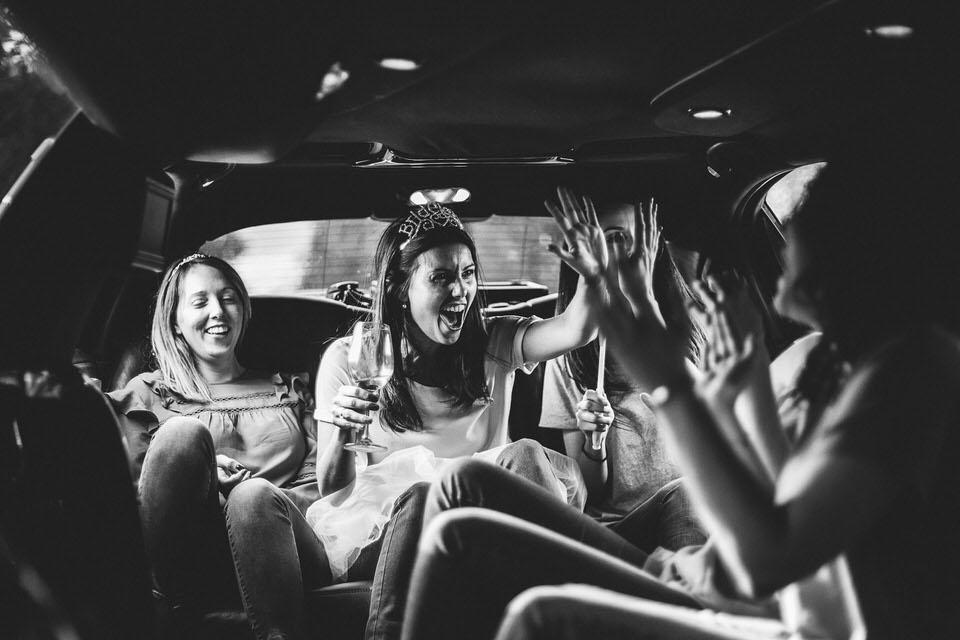 photographe evjf limousine paris