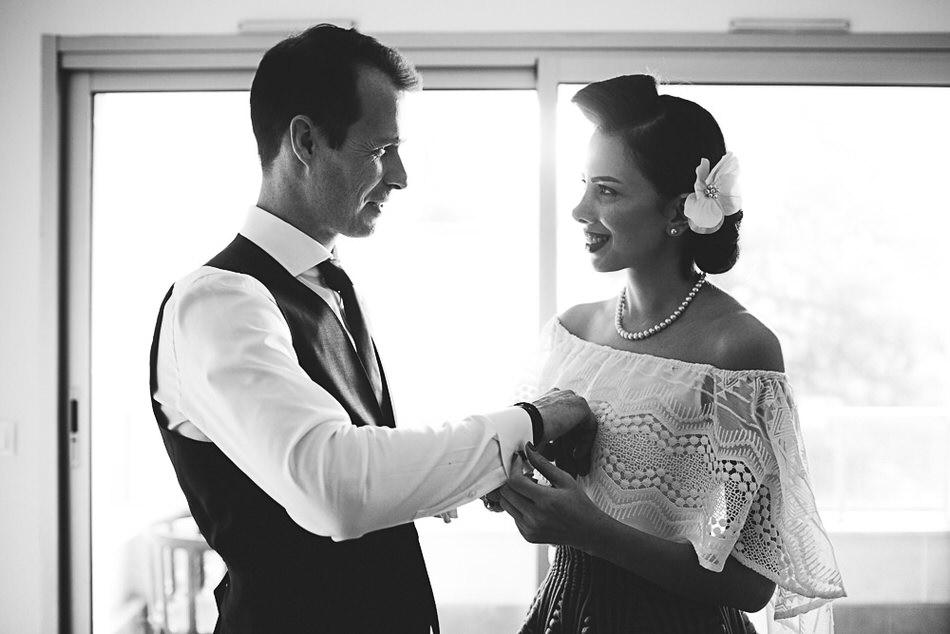 préparatifs de mariés ensemble à Vincennes