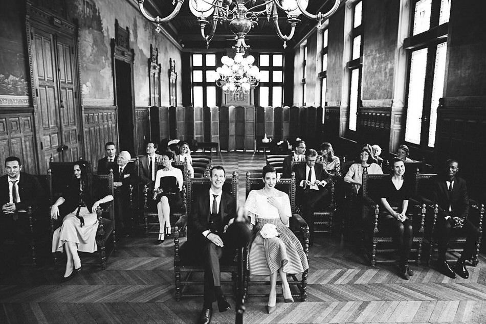 photo de la salle des mariages à Vincennes